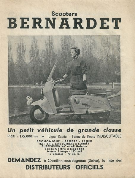 Doc scooter Bernardet