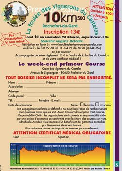 inscription course 2010 pt