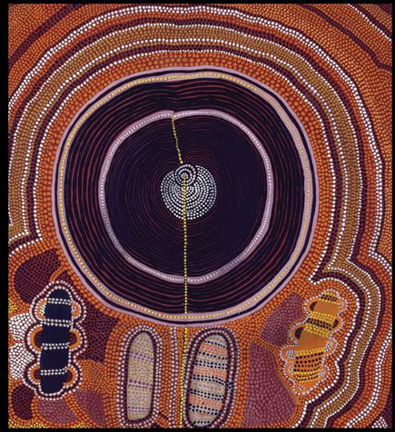 Australie icons of the desert early aboriginal paintings fr