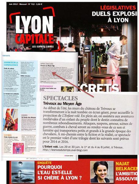 Article Lyon Capitale juin 2012
