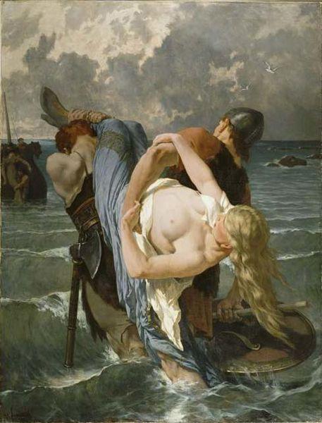 Evariste-Vital Luminais - Pirates normands au IXe siècle