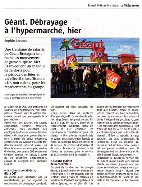 Géant Le Télégramme 05.12
