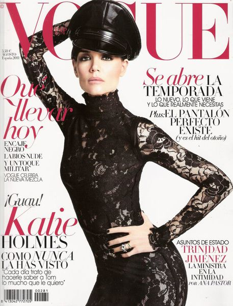Katie Holmes vogue spain julesfashion com