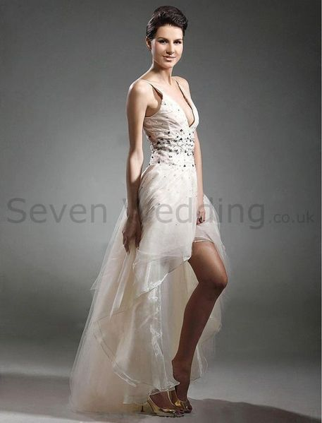 Wedding Dress With Short Skirts Why Not You Try To Buy