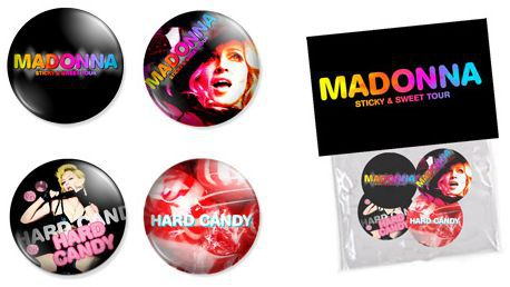 Sticky & Sweet Tour: Merchandising