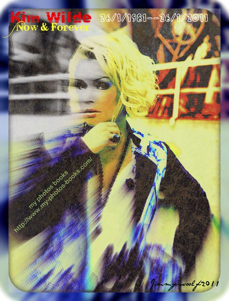 Kim Wilde 30ans my photos books