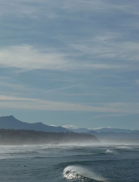 Vague à la Côte des Basques
