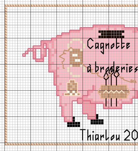 cagnotte à broderie 1