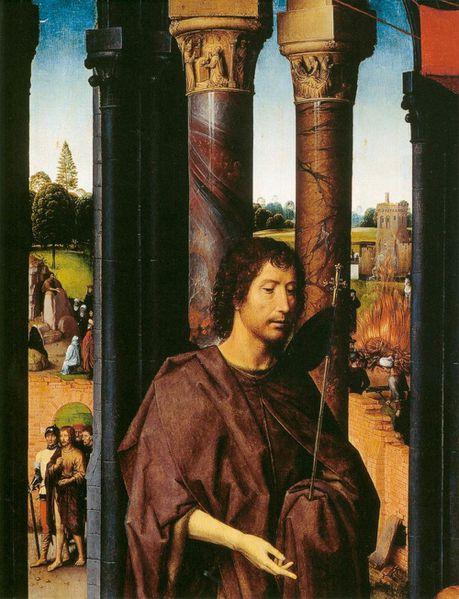 St John Altarpiece detail 2