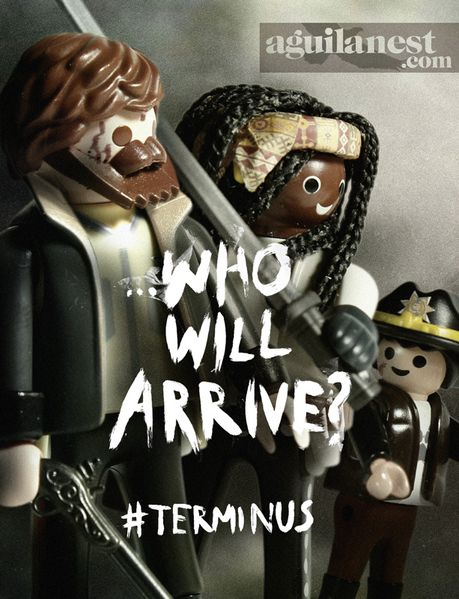 aguilanest playmobil the walking dead