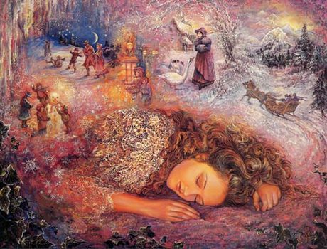 winter dreaming Josephine Wall
