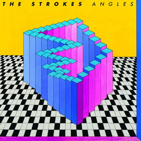 TheStrokes ANGLES cover5