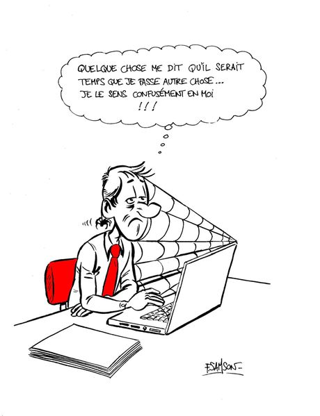 luc lemploy dans la jungle du travail un blog bd d 39 humour sur le monde de l 39 entreprise du. Black Bedroom Furniture Sets. Home Design Ideas