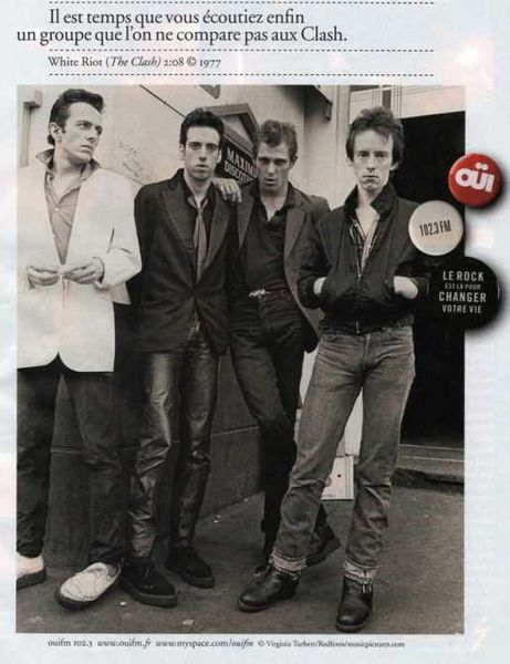 THE CLASH OUI FM