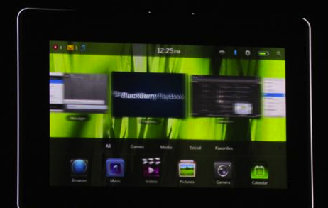 RIM dévoile sa tablette BlackBerry, la PlayBook