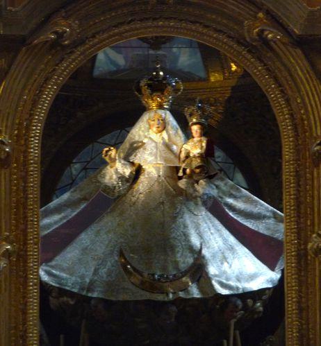 Puebla Chapelle du Rosaire vierge