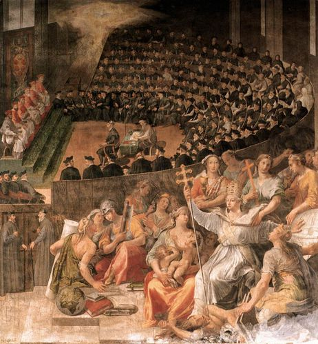 The Council of Trent by CATI DA IESI