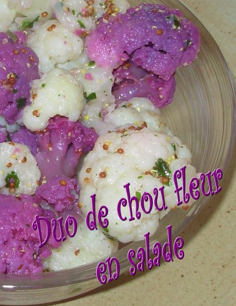 Duo de chou fleurs en salade3