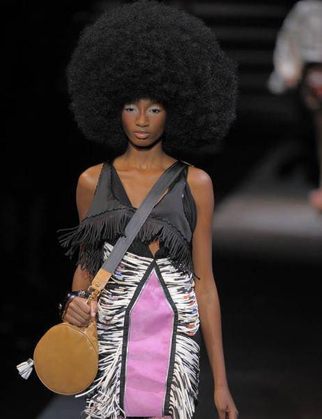Afro PE 2010 Louis Vuitton