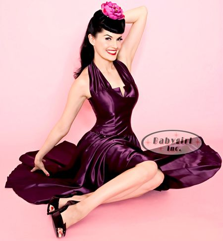 qohz-plum-satin-swing-dress