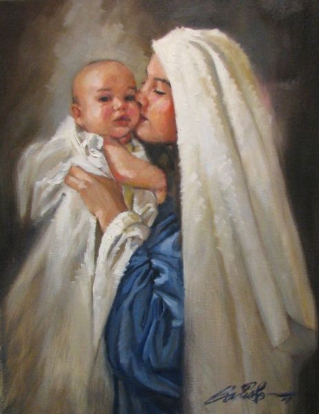 Blessed-Virgin-Mary-and-Baby-Jesus--Mark-Sanislo--parousie-jpg