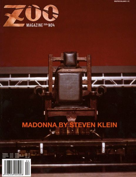 Zoo Magazine 2004 - Madonna by Steven Klein