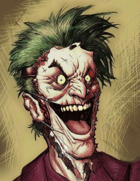 joker face digipaints by freddylupus-d5i4o8y