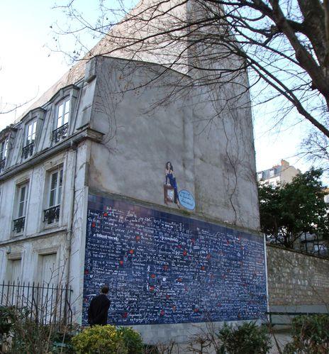 Abbesses mur je t'aime Gilda Rue Meurt d'Art 2