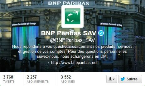 twitter banque sav