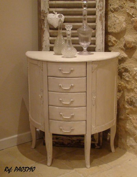 Pa03790 buffet demi lune ylg home style - Meuble louis xvi occasion ...