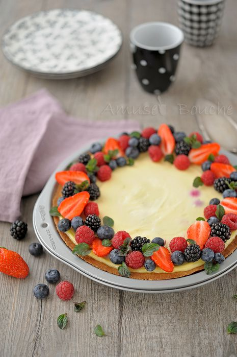 Tarte cheesecake et fruits rouges (8)