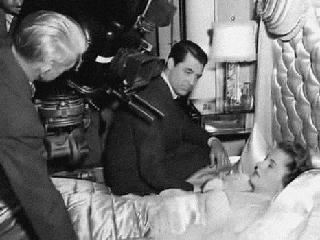 Soupcons Hitchcock tournage