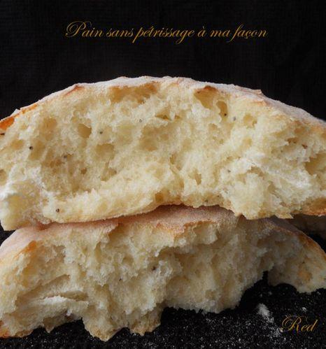 pain sans pétrissage à ma façon2