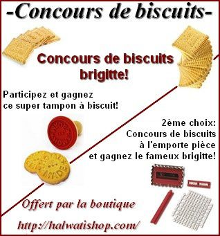concours biscuits