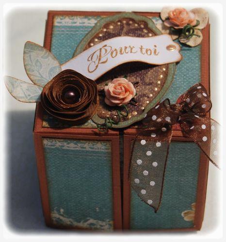 Boîte cube de Florial n°1