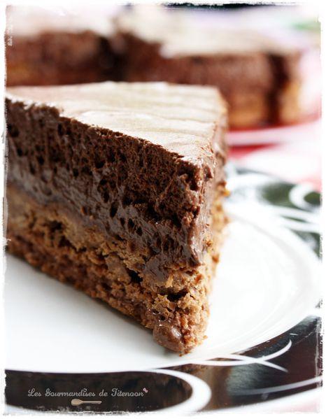 Le trianon c 39 est facile les gourmandises de titenoon - Gateau au chocolat anniversaire facile ...