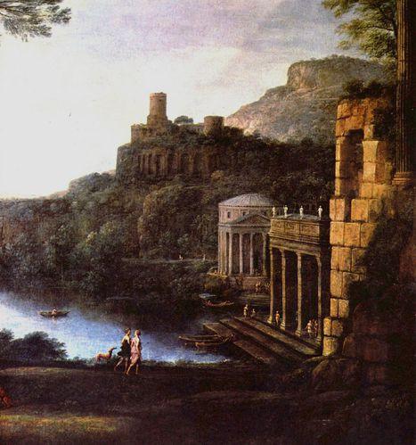 le lorrain paysage antique