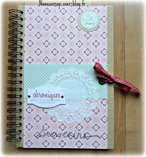Family diary couverture