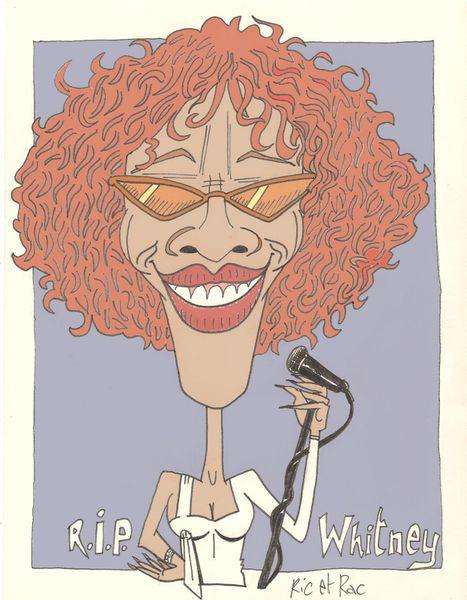 Décés de Whitney Houston