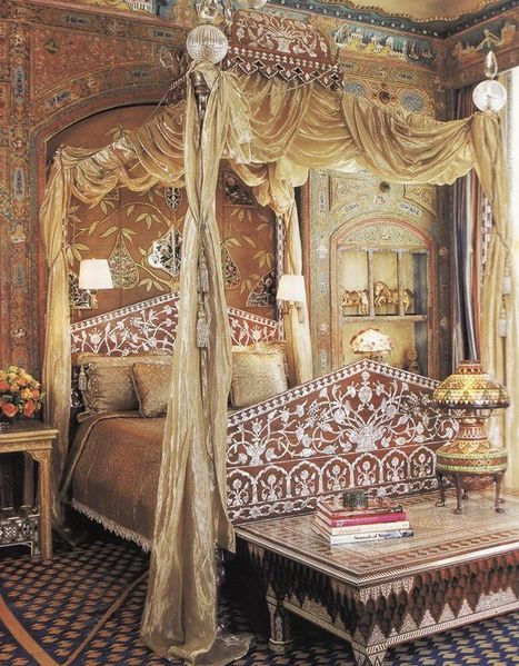Ann Getty Bedroom
