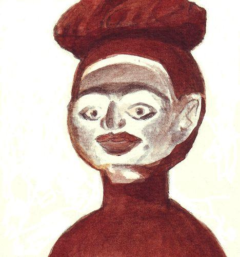 Femme sacrée - détail