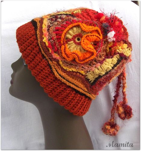 Freebeanie orange 1
