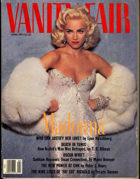 vanity fair april 1991 Scan10272