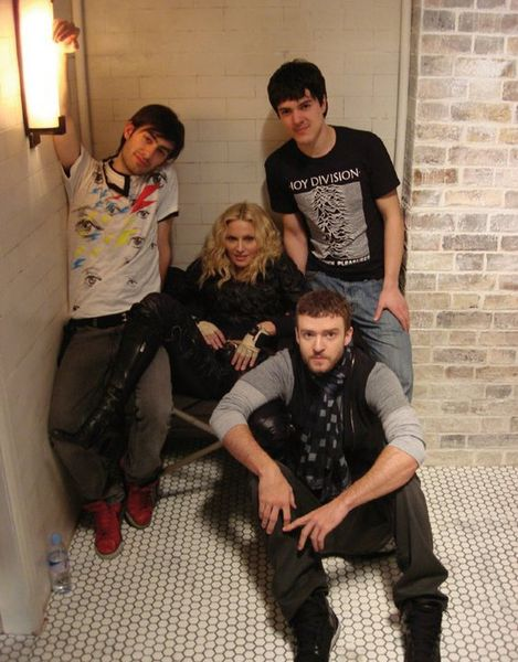 Madonna On The Set of 4 Minutes - 2008 (1)