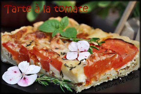 Tarte à la tomate 1a