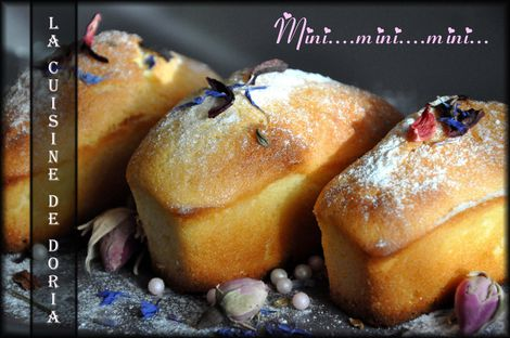 Mini cakes citron 4