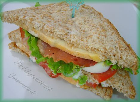 club sandwich Maroilles 1