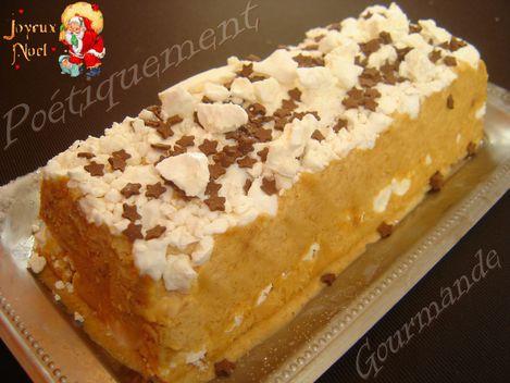 Vacherin la cr me de marron po tiquement gourmande - Dessert a la creme de marron ...