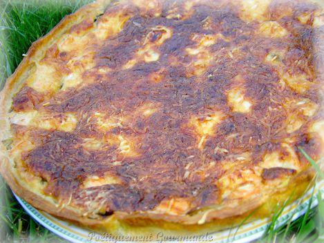 tarte saumon mascarpone