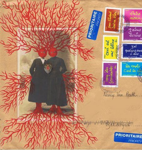 mail art pour Nancy Van Reeth
